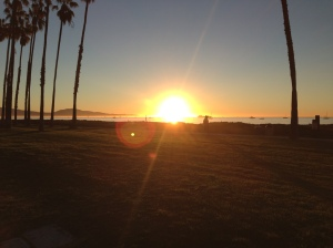 Sunrise in Santa Barbara, CA