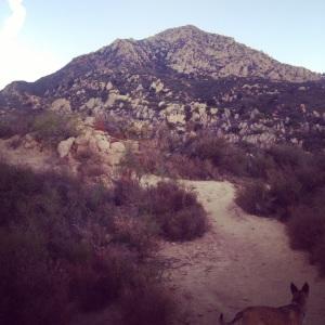 Peak behind inspiration point. Santa Barbara, CA October 2014